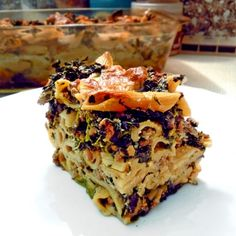 Lasagna, Quinoa, Good Food, Food And Drink, Pasta, Healthy Recipes, Fitness, Cooking, Ethnic Recipes