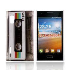 StoryLine (Retro Tape) LG Optimus L5 Deksel