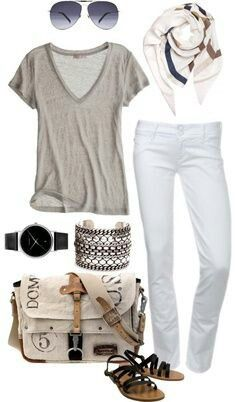 Love the neutrals for Europe - easy to mix and match, layer, and comfy!