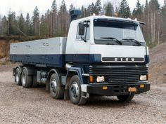 Sisu SM 300 8×4 '1983–96 Big Rig Trucks, Old Trucks, Commercial Vehicle, Heavy Equipment, Motor Car, Cars And Motorcycles, Transportation, Vehicles, Coaches