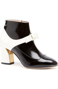 Gucci 'Nimue' Block Heel Bootie (Women) available at #Nordstrom