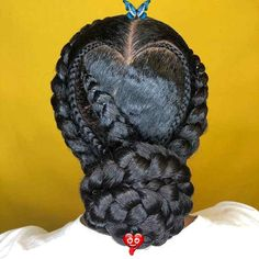45 Classy Natural Hairstyles for Black Girls to Turn Heads in 2019<br> Box Braids Hairstyles, Natural Bun Hairstyles, Super Easy Hairstyles, Try On Hairstyles, Creative Hairstyles, Trending Hairstyles, Black Women Hairstyles, Natural Hair Styles, Updos Hairstyle
