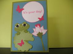 Frog Card Punch ART KIT Makes 1 Card | eBay