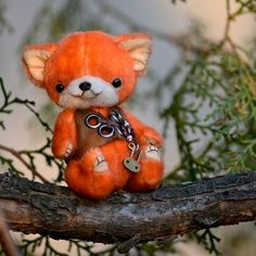 Zorro the fox by By Tatiana Scalozub | Bear Pile
