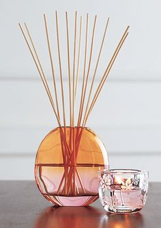 #PartyLite Blossom Reed Diffuser  I can see these keeping a fragrance around the room