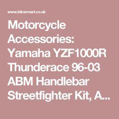 Motorcycle Accessories: Yamaha YZF1000R Thunderace 96-03 ABM Handlebar Streetfighter Kit, ABM COMPLETE YOKE & RISER KITS, 240-10213