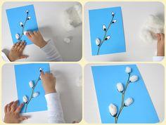Bunny Crafts, Easter Crafts, Craft Activities For Kids, Preschool Crafts, Spring Crafts For Kids, Art For Kids, Diy Ostern, Kindergarten, Arts And Crafts