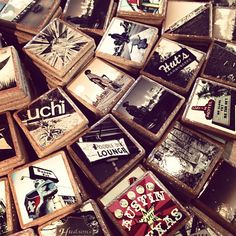 LOVE these coasters!!! I already have the 'Hey Cupcake', 'The Capital', and 'Austin Sign'. Austin coasters galore at Luxe Apothecary off 2nd Street! - more great gift ideas.