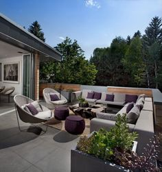 Cubo Luxus-Penthouse Wohnung-Outdoor Sofa-Set Ausblick-Melbourne ...