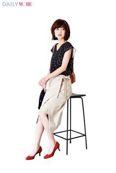 【今日のコーデ/逢沢りな】仕事終わりにデートの月曜日は色っぽ巻きスカートで新鮮に♡ | ファッション(コーディネート・流行) | DAILY MORE