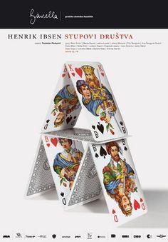 Studio Cuculic - Stupovi drustva #theater posters