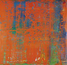 Abstract Painting. 1991. 145 cm x 150 cm Catalogue Raisonné: 742-1 Oil on wood. Gerhard Richter.