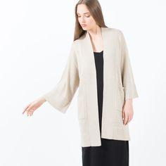 Modern Citizen  |  Lila Open Pocket Sweater (Taupe) $25.50