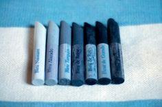 pastels bleus , bleu naissant , bleu alazado, bleu turquin,bleu de reine, bleu de roi , bleu de guesde , bleu d'enfer