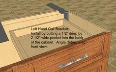 granite brackets, granite bracket, granite braces, granite brace, counter top bracket, counter top support bracket.