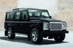 2015 Land Rover Defender Black and Silver Pack
