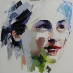 Elisabeth Bessnier abstract portraits More