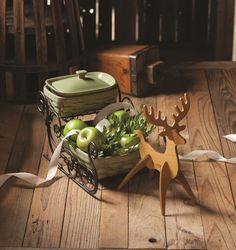 Decorations that are both beautiful and functional serve as excellent centerpieces for the holidays.