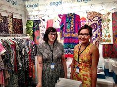 Angel Textiles at Indigo, July 2013