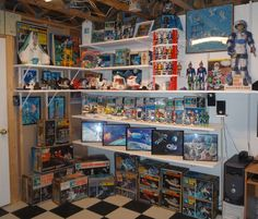 A Major Matt Mason museum! I had the crawler, the bubble, the glider, the space station, the... wow. I was a geek.