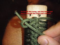 Paracord wrapping handles