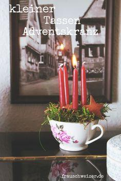 Last Minutes Adventskranz selber machen. Hier findet ihr zwei tolle Ideen!