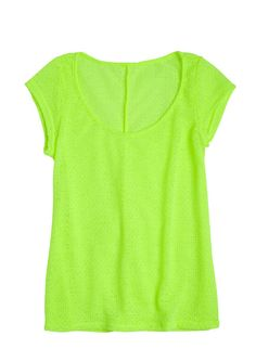 dELiAs > Neon Textured Short Sleeve > clothes > tops > view all tops