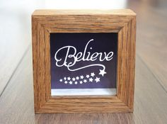 Believe paper cut - Magical miniature framed original floating papercut  art by PrettyPaperPetal on Etsy https://www.etsy.com/listing/195063453/believe-paper-cut-magical-miniature