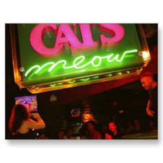 The Cat's Meow in New Orleans - One of the funnest places I have EVER been! Take me back pleeeeease!!
