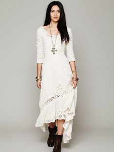 Free People Mexican Wedding Dress, R1759.82