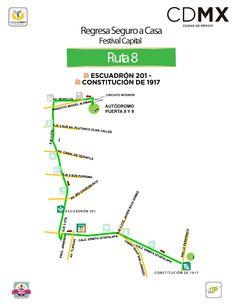 Para un regreso seguro y accesible habrá 10 rutas que saldrán de la Puerta 8 desde las 24 hrs y hasta que la demanda termine.