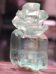 Beryl variety Aquamarine Locality: Shigar Valley, Skardu District, Baltistan, Gilgit-Baltistan, Pakistan
