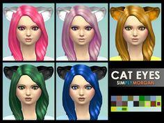 SimplyMorgan77's Cat Eyes - Eye Colors
