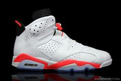 Air Jordan 6 Retro White Infrared New Detailed Pictures