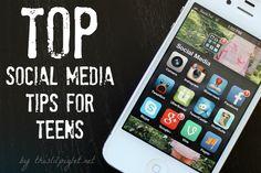 Top Social Media Tips for #Teens #ESETProtects #parenting #socialmedia