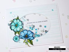 Stamp abeautiful wildflower cluster with this set! 4x6inches 10stamps Made of photopolymer Made in the U.S. Coordinating dies areavailable here. The cluster