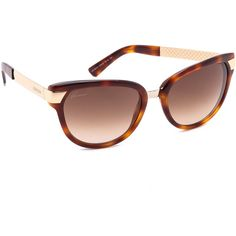 Gucci Cat Eye Sunglasses - Havana/Brown Gradient