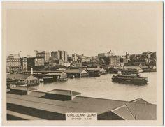 Circular Quay Sydney ca. 1922-1929