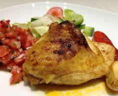 Mexické kuře se salsou