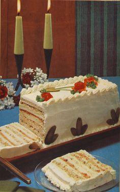 Recreating the Seven-Layer Sandwich Cake from Bon Appétit 1969 - Bon Appétit