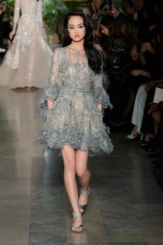 Elie Saab at Couture Spring 2015 | Stylebistro.com
