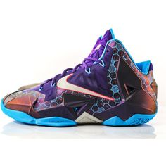 'Summit Lake' LeBron 11 Swarming in to Stores This Saturday ❤ liked on  Polyvore