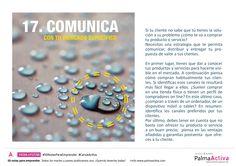 17/50 de las #50NotasParaEmprender COMUNICA CON TU MERCADO ESPECÍFICO #CanvaActiva