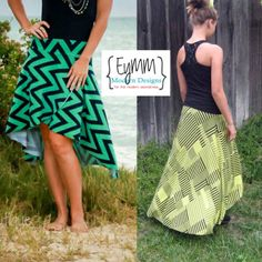 Women's Calla Lily Skirt (XS-5X) | YouCanMakeThis.com | Sewing Pattern