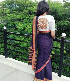 New blouse designs 2020 - trendy blouse design images for Saree Blouse Neck Designs, Stylish Blouse Design, Fancy Blouse Designs, Bridal Blouse Designs, Blouse Patterns, Indian Style, Bollywood, Online Shopping, Ootd