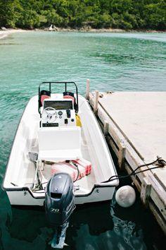 Boat in St John | Hit the water on your honeymoon | USVI