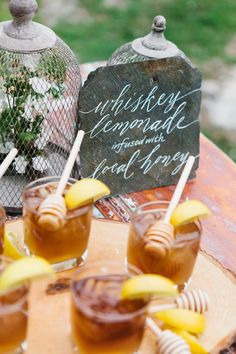 100 Signature Drinks ~ we ♥ this! moncheribridals.com
