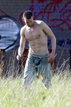 Matt!! :) he's got abs! :D *might* be enough for me to look past his hair....