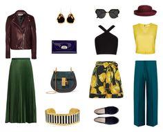 """hello autumn"" by karnosha-1 on Polyvore featuring мода, Dolce&Gabbana, BCBGMAXAZRIA, Alice + Olivia, Maison Margiela, Brooks Brothers, Chanel, Fendi, Chloé и Christian Louboutin"
