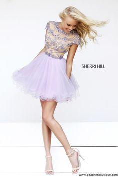 Sherri Hill Short Dress 21304 at Peaches Boutique
